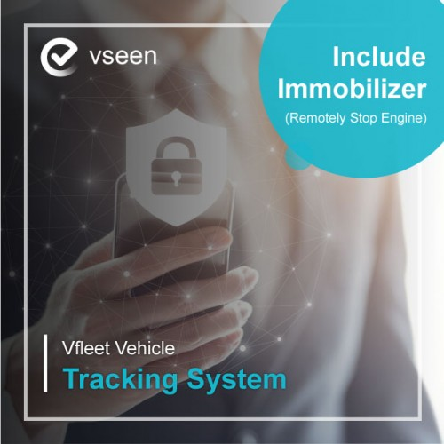 Vfleet Vehicle Tracking System (Include Immobilizer)